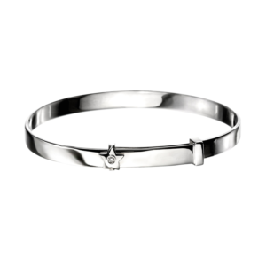 Diamond Star Baby Bangle